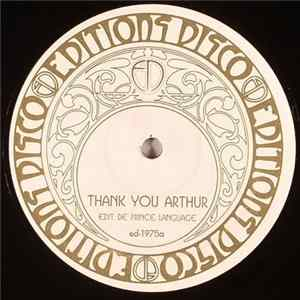 Dinosaur L / Edwin Birdsong - Thank You Arthur / Lollipop Album