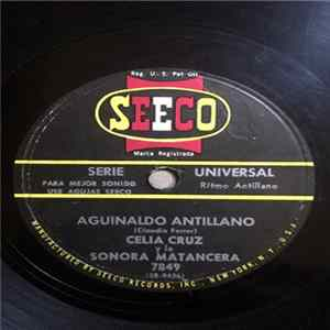 Celia Cruz Y La La Sonora Matancera - Aguinaldo Antillano / Jingle Bells Album